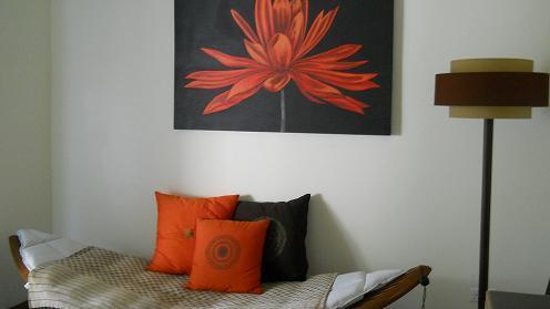 2 bedroom double-storey apartment to rent in Bain Boeuf (Mauritius)