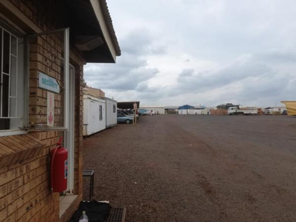 2.27 hectare commercial industrial property for sale in Vaalbank (Middelburg)