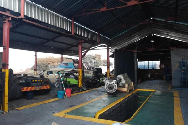 4.32 hectare commercial industrial property for sale in Middelburg (Mpumalanga)