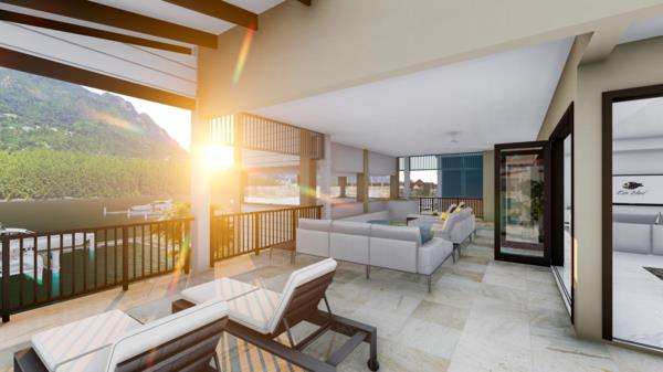 4 bedroom penthouse apartment for sale in Eden Island (Seychelles)