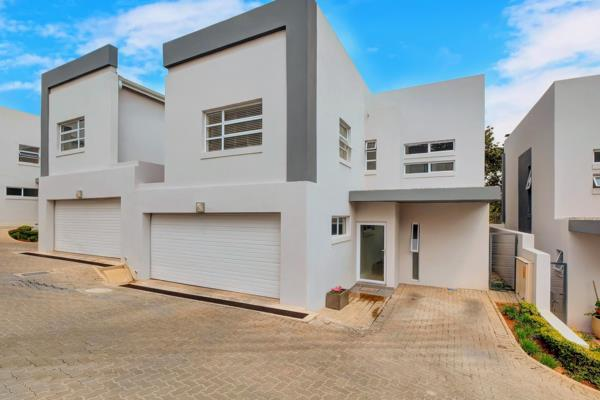 3 bedroom cluster house to rent in Bryanston