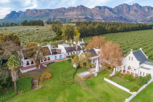 27 hectare mixed use farm for sale in Paarl