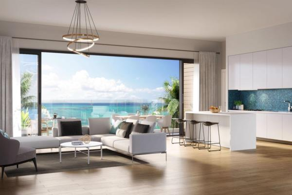 3 bedroom penthouse apartment for sale in Pereybere (Mauritius)