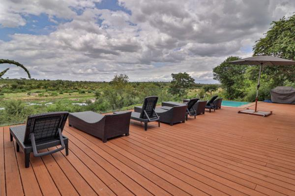 Security estate home for sale in Mjejane Game Reserve