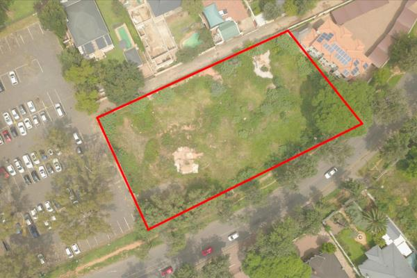 3123 m² vacant land for sale in Parkwood (Johannesburg)