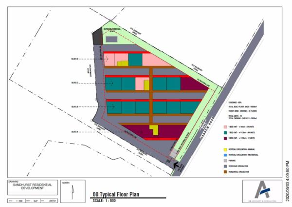 5605 m² residential vacant land for sale in Sandhurst