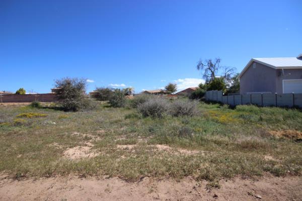 1019 m² vacant land for sale in West Bank (Oudtshoorn)