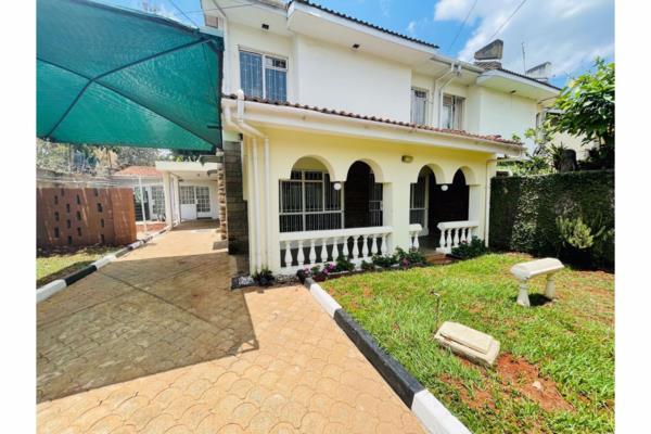 4 bedroom townhouse to rent in Kilimani (Kenya)