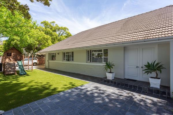 4 bedroom house to rent in Newlands (Cape Town)